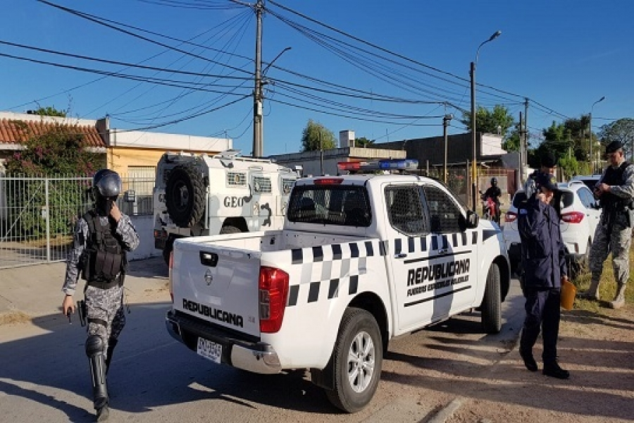 "Operativo ""Panizza"" en Cruz de Carrasco"