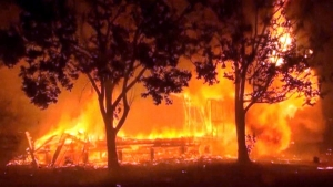 Enormes incendios en California