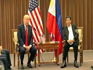 Trump visitó Filipinas