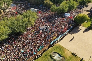 La mayor protesta en Mendoza